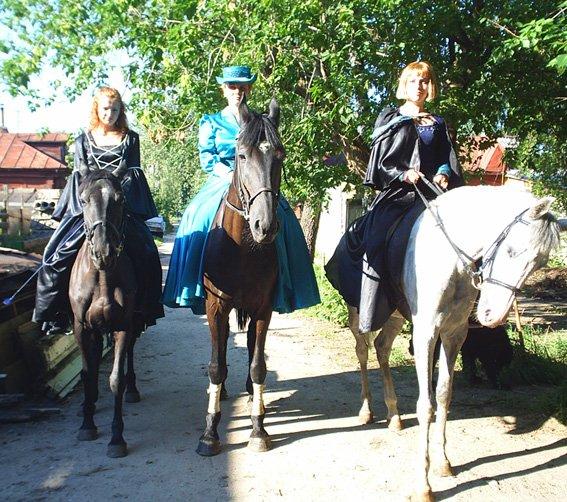 Прогулки на лошадях - Костюмированная прогулка