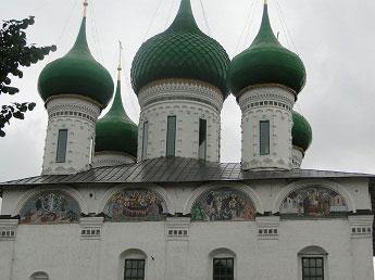 Толгский монастырь - Фрески (мозаика)