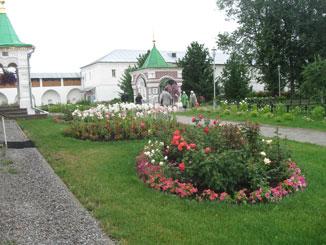 Толгский монастырь - В монастыре множество красивых уголков...