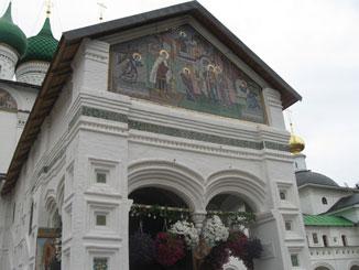 Толгский монастырь - Фрески