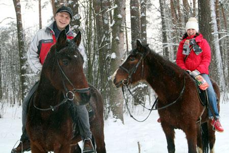 Прогулки на лошадях - Прогулка