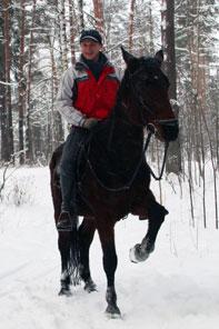 Прогулки на лошадях - Прогулка. Зима 2019.