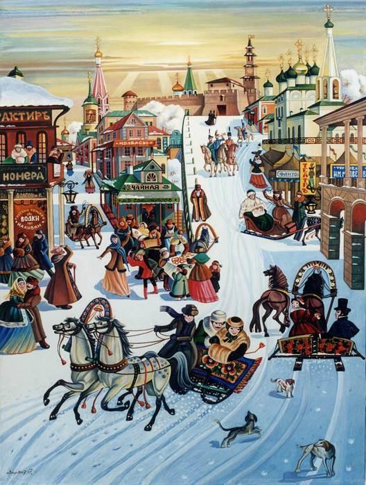 13-14 февраля традиционные катания на лошадях на Масленицу
