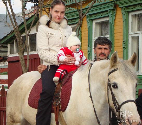 Иппотерапия в Иванове и Ивановской области - Дневник иппотерапевта - Первый раз верхом