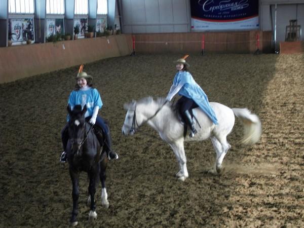 """Верховая езда / Конный спорт - Конное шоу """"Весенний карнавал"""""""