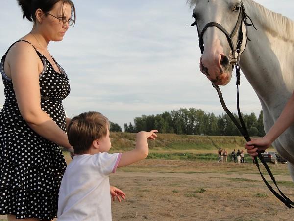Иппотерапия и лечебная верховая езда (ЛВЕ) - Иппотерапия. Лиза и Ника
