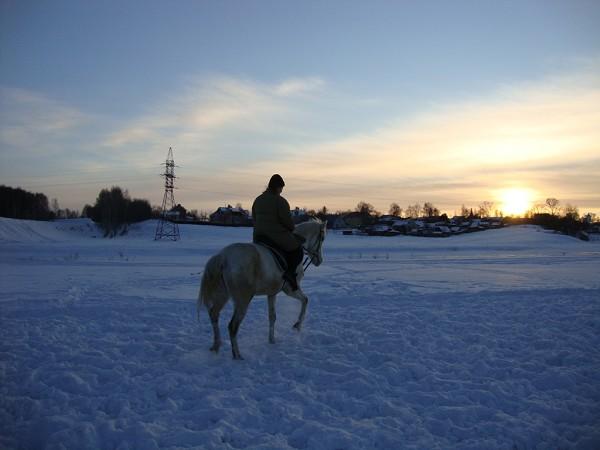 Верховая езда / Конный спорт - Верховая езда. Март 2011.