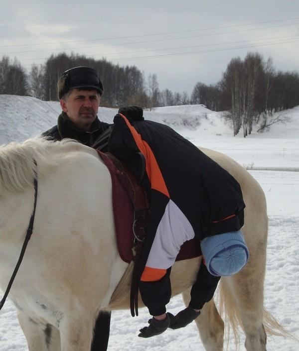 Иппотерапия и лечебная верховая езда (ЛВЕ) - Занятие с Мишей