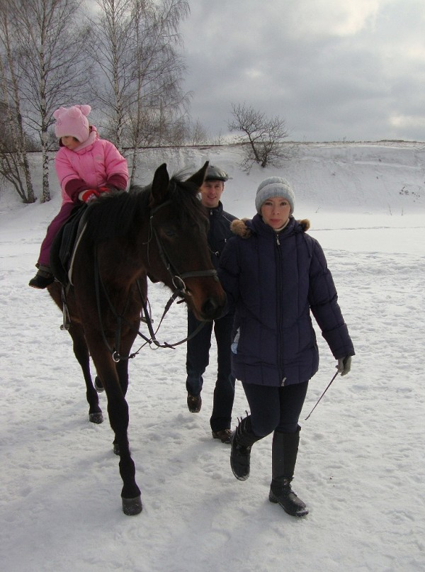 Иппотерапия и лечебная верховая езда (ЛВЕ) - Занятие по иппотерапии.