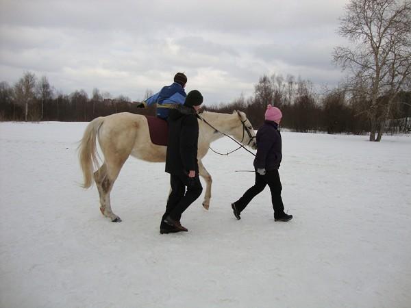Иппотерапия и лечебная верховая езда (ЛВЕ) - Иппотерапия. Сережа