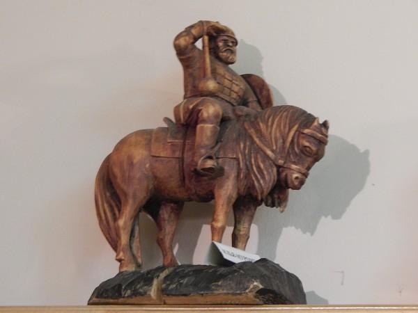 Кукобой. Владения Бабы-Яги - В музее. Скульптуры из дерева