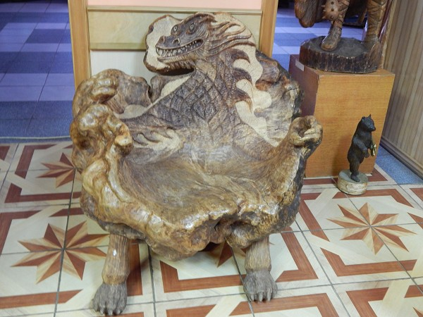 Кукобой. Владения Бабы-Яги - Лесная гостинная. Кресло