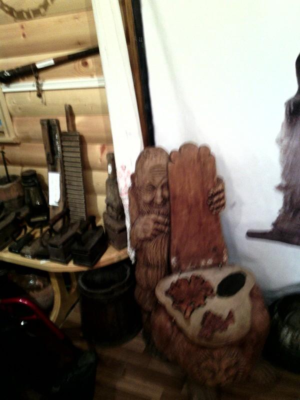 Кукобой. Владения Бабы-Яги - В зале деревенского быта