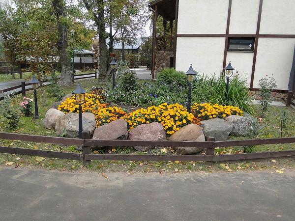 Золотая осень 2014 - Территория КСК Белая дача