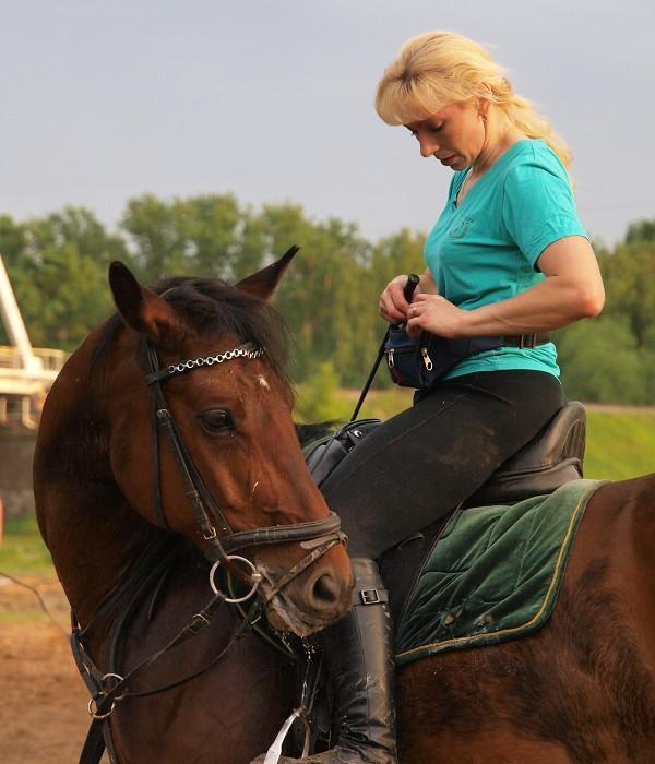 Верховая езда / Конный спорт - Где морковка?