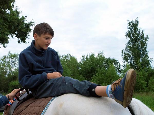 Иппотерапия и лечебная верховая езда (ЛВЕ) - Знакомьтесь  - Арсений