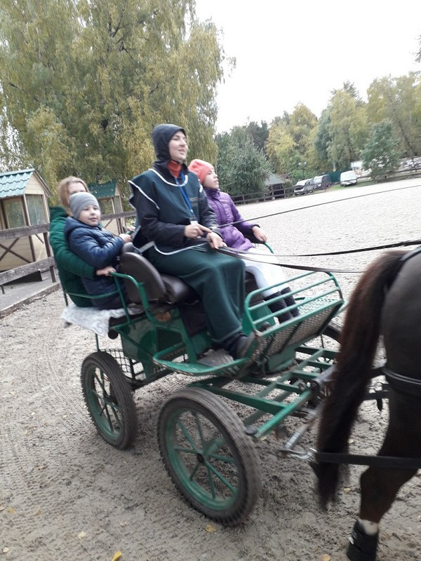 Фестиваль Золотая Осень-2017 - Катание в экипаже