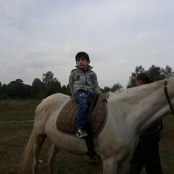 Иппотерапия и лечебная верховая езда (ЛВЕ) - Тренировка Максима
