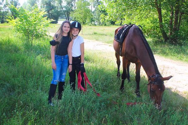Верховая езда / Конный спорт - Фото после тренировки