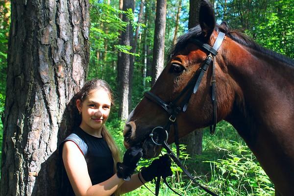Верховая езда / Конный спорт - Фотосессия Алиса и Хохма