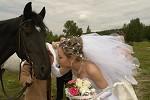 Свадьба на лошадях - Невеста + КЭП