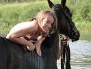 Лошади - Яна с Волной