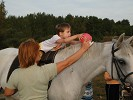 Иппотерапия и лечебная верховая езда (ЛВЕ) - Упражнения с мячом