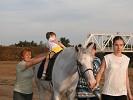 Иппотерапия и лечебная верховая езда (ЛВЕ) - Иппотерапия. Лиза на Нике