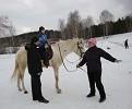 Иппотерапия и лечебная верховая езда (ЛВЕ) - Иппотерапия. Занятие с Сережей