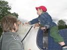 Иппотерапия и лечебная верховая езда (ЛВЕ) - Тёма на Нике. Нужно дотянуться!