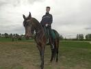 Верховая езда / Конный спорт - Верховая езда. (май 2012) Сергей на Волне