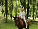Свадьба на лошадях - Жених. Саша на Водопаде