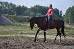 Иппотерапия и лечебная верховая езда (ЛВЕ) - Тренировка. Август 2014