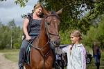 Фотосессии. Фотограф Надежда Рыбакова - Ирина с дочкой и, конечно Водопад