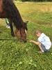 Иппотерапия и лечебная верховая езда (ЛВЕ) - Максимка и Хохма