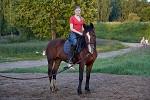 Иппотерапия и лечебная верховая езда (ЛВЕ) - Тренировка на корде (вольту)