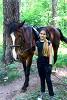 Верховая езда / Конный спорт - Алиса и Хохма