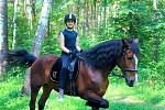 Верховая езда / Конный спорт - Алиса на Хохме