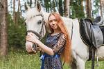 Фотосессия с лошадьми - Марина и Ника. Лето 2020