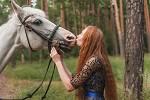 Фотосессия с лошадьми - Нежность
