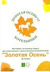 """""""ЗОЛОТАЯ ОСЕНЬ"""" 2013"""